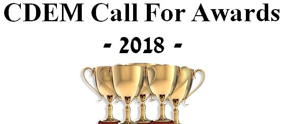 CDEM Call for Awards